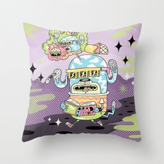 Rad Story Throw Pillow