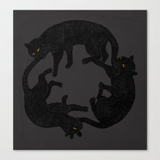 vicious circle Canvas Print