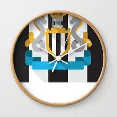 NUFC Wall Clock