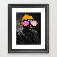 Albert E Framed Art Print