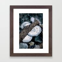 Dead & Living. Framed Art Print