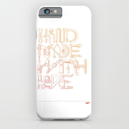Hand Made With Love iPhone & iPod Case