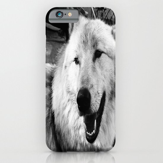 Wolf Dog iPhone & iPod Case