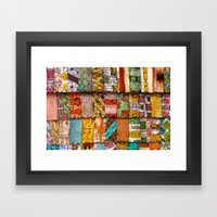 Extreme Quilting Framed Art Print