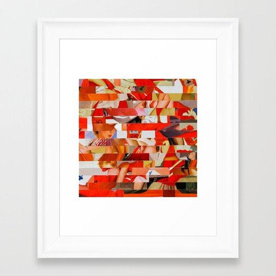 Sanrio Mustang Ranch (Provenance Series) Framed Art Print