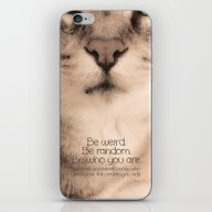 Wise Tabby Cat iPhone & iPod Skin