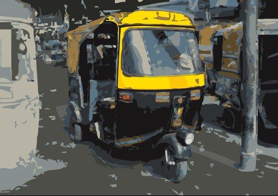 Baby Taxi Art Print