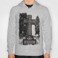 Cemetery Celtic Cross Hoody
