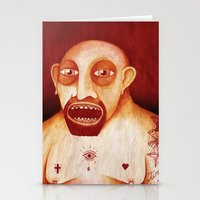 Los Tattoos Del Sombra Stationery Cards