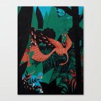 Russian Folk Tales - The… Canvas Print