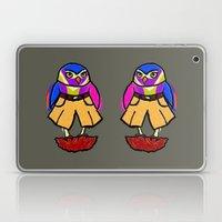 Colorful Owl In Trousers Laptop & iPad Skin