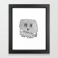 Bad Trips Framed Art Print