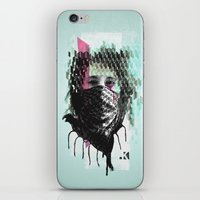 RIOT Girl iPhone & iPod Skin