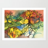 Birth Art Print