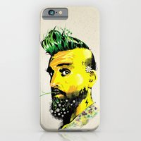 iPhone & iPod Case featuring GREEN BEARD by kravic