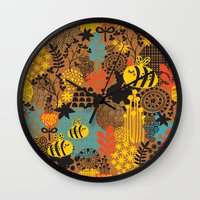 The Bee. Wall Clock
