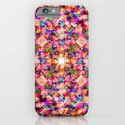 Colorful Digital Abstract iPhone & iPod Case