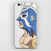 Ultimo Dragon iPhone & iPod Skin