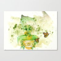 Money Pot Canvas Print