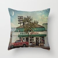 Bronx Pizza Throw Pillow