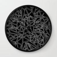 Abstract #001B Wall Clock