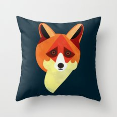 Zorro/Fox Throw Pillow