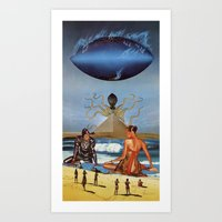 New Gods Art Print