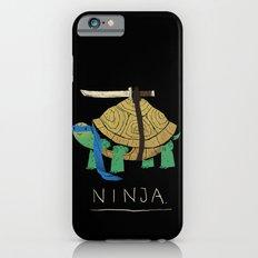 ninja - blue iPhone 6s Slim Case