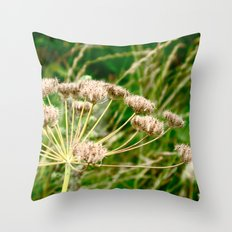 Flower I Throw Pillow