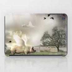 Pig with Wings iPad Case
