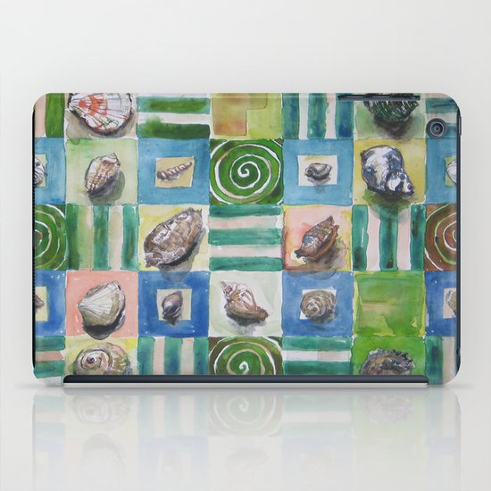 Shell and stripes iPad Case