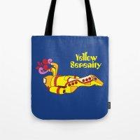 Yellow Serenity Tote Bag