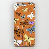 Butterflies Butterflies iPhone & iPod Skin