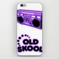 Old Skool iPhone & iPod Skin