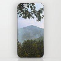 Foggy Mountain Top iPhone & iPod Skin
