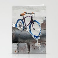Paper Bicycle Stationery Cards