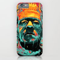 iPhone Cases featuring Frankenstein by nicebleed