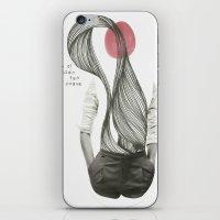 con el corazón tan suave como yo iPhone & iPod Skin