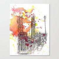 London Scene Canvas Print