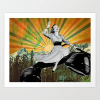 To infinity and beyond! Art Print