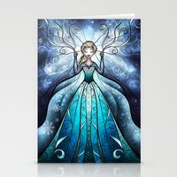 The Snow Queen Stationery Cards