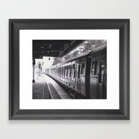 All Trains Lead To Chist… Framed Art Print