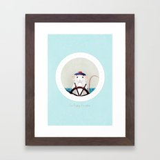 I'm Popeye the sailor Framed Art Print