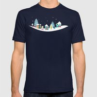 Apres Ski Mens Fitted Tee Navy SMALL