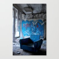 Abandoned Place Canvas Print