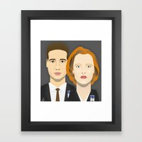Watching The Detectives … Framed Art Print