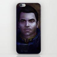 Mass Effect: Kaidan Alenko iPhone & iPod Skin