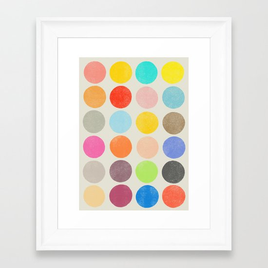 colorplay 1 Framed Art Print