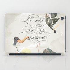 L.W.T.U.A (Love will tear us apart) iPad Case
