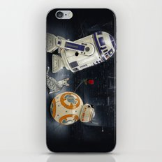 LOVE DROID & THE CAT iPhone & iPod Skin